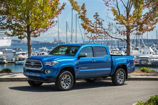 All New 2016 Toyota Tacoma Limited Double Cab makes a good truck better.