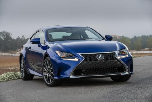 2016 Best Drives: Sharp Dressed Ride  Lexus RC Coupe